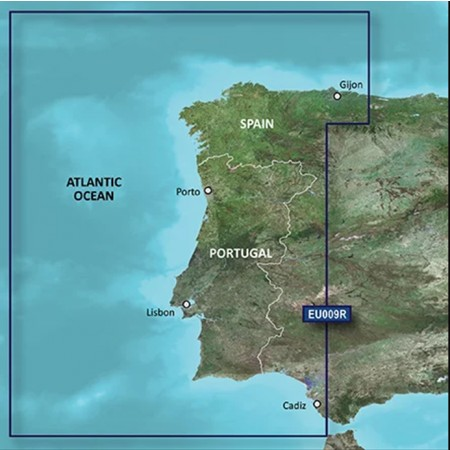 Carta Garmin Bluechart G3 Portugal HXEU009R