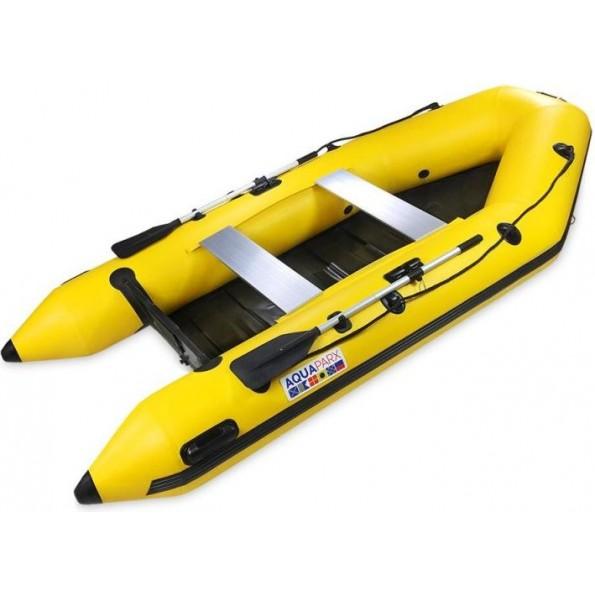 Barco Pneumático Aquaparx 330 PRO Amarelo