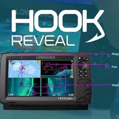 Nova série de sondas Lowrance Hook Reveal