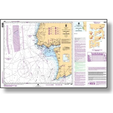Cartas náuticas papel