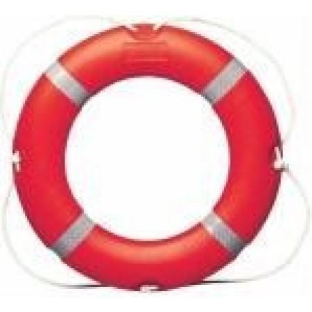 Bóias salvavidas e suportes